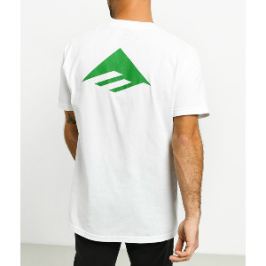 PURE TRIANGLE TEE - WHITE