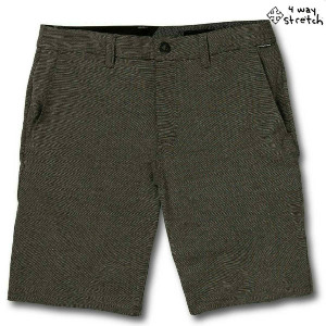 "FRICKIN SURF N' TURF SLUB 20"" SHORT - BLACK"