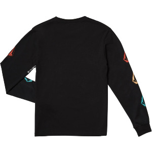 DEADLY STONE BSC LS KID'S - BLACK