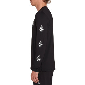 DEADLY STONES L/S - BLACK