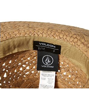 STONE TRAMP STRAW HAT - NATURAL