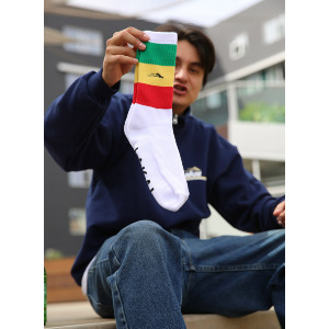 BAR CREW SOCK - WHITE