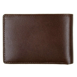 VOLCOM LEATHER WALLET - BRowN