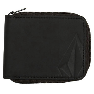 FULL ZIP WALLET - BLACK