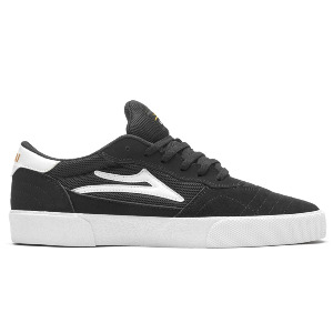 CAMBRIDGE - BLACK/WHITE SUEDE