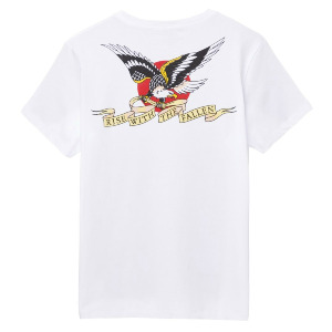 Eagle Pocket Tee - White