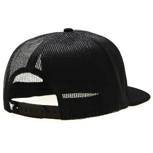 Plate Trucker Cap - Black