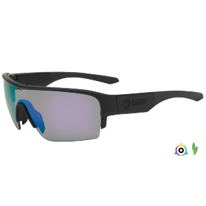 TRACER X - MATTE BLACK/LUMALENS VIOLET IONIZED + LUMALENS SOLID BROWN + CLEAR