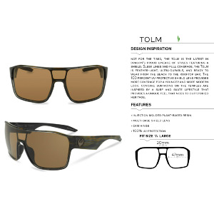TOLM - MATTE BLACK/LUMALENS RED IONIZED