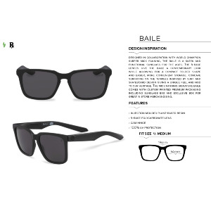 BAILE - MATTE BLACK/LYNXX/LUMALENS BROWN