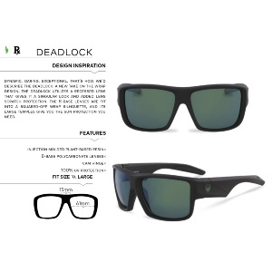 DEADLOCK - ROB MACHADO RESIN/LUMALENS BROWN