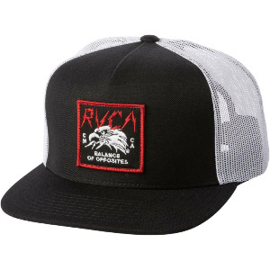 STRIKE TRUCKER CAP - BLACK