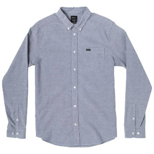 THAT'LL DO STRETCH LS SHIRT - DISTANT BLUE