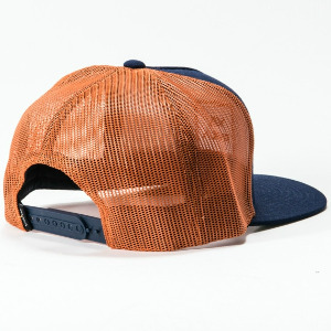 VA ALL THE WAY TRUCKER HAT - NAVY RUST