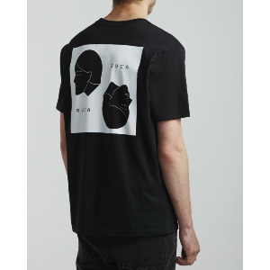 JOHANNAS HEADS SS T-SHIRT - BLACK