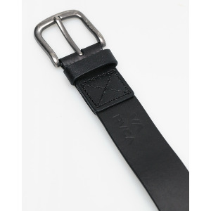 TRUCE LEATHER BELT - BLACK