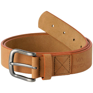 TRUCE LEATHER BELT - TAN