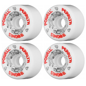 G-BONES WHEELS - White 97A