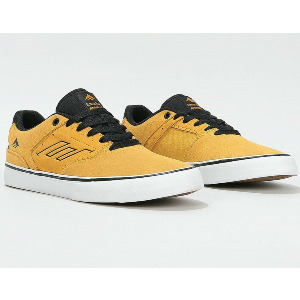 THE LOW VULC - BLACK/ORANGE/YELLOW