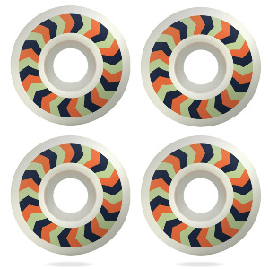 Cutback Wheels - Orange 52mm 99a