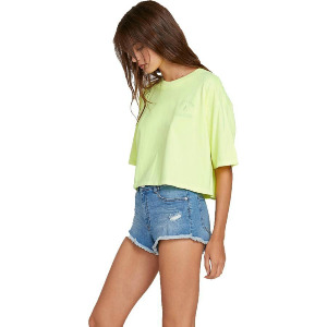 NEON AND ON TEE - NEON YELLOW