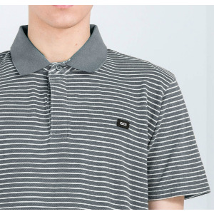 Danger Polo - Lead Stripe