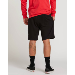 DEADLY STNS FLC SHORT - BLACK