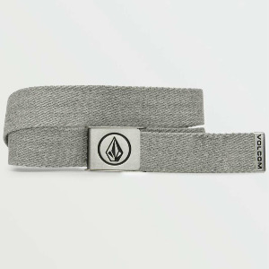 CIRCLE WEB BELT - HEATHER GREY