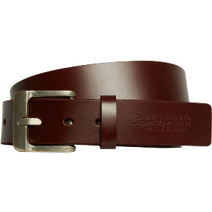 THE CLASSIC LEATHER BELT - BROWN