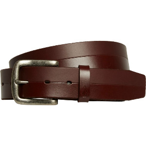 BISTONE LEATHER BELT - BROWN