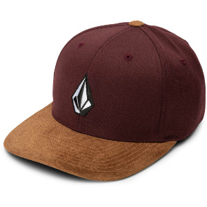 FULL STONE HTHR XFIT CAP - DARK PORT