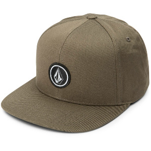 QUARTER TWILL CAP - MILITARY
