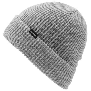 POLAR LINED BEANIE - HEATHER GREY