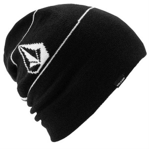 DEADLY STONES BEANIE - BLACK