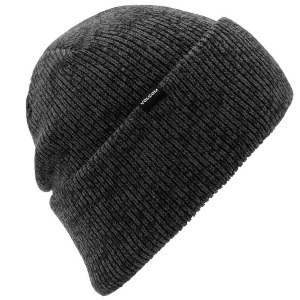 HEATHERS BEANIE - DARK GREY