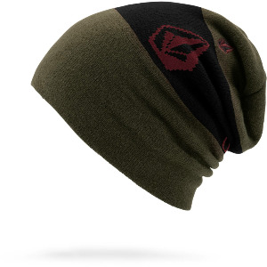 DEADLY STONES BEANIE - BLACK MILITARY