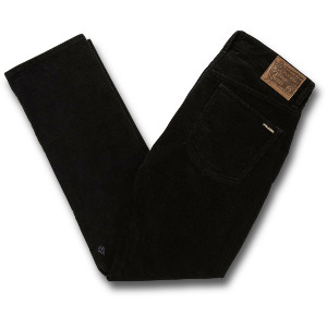 VORTA 5 POCKET CORD - BLACK