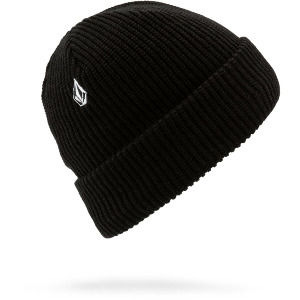 POLAR LINED BEANIE - BLACK