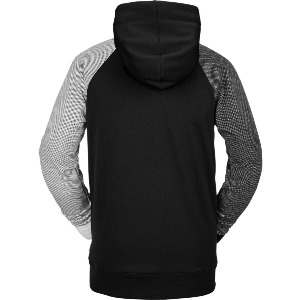 HYDRO RIDING HOODIE - BLACK CHECK