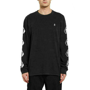DEADLY VOLCOM X GIRL SKATEBOARDS L/S TEE - BLACK