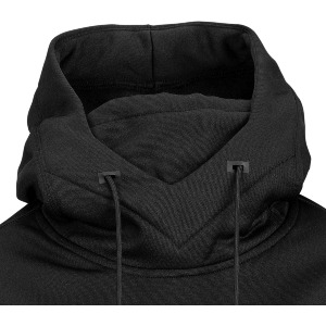SPRING SHRED HOODY - BLACK