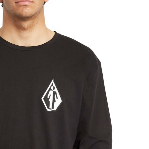 TOGETHER THERE IS MORE VOLCOM X GIRL SKATEBOARDS LS - BLACK