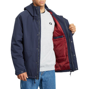 SYNTHWAVE 5K JACKET - NAVY