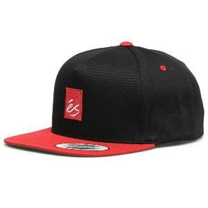 MAIN BLOCK SNAPBACK - BLACK/RED
