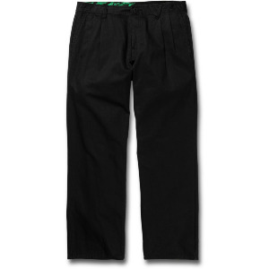 GREENFUZZ PANT - BLACK