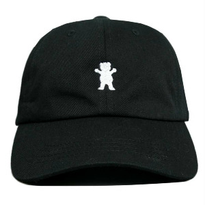 OG BEAR DAD HAT - BLACK