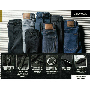 SOLVER DENIM - MID MARBOLED INDIGO