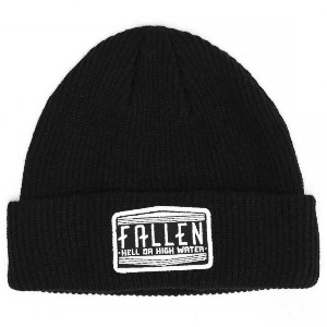 Hendley Beanie - Patch Black