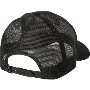 TICKET TRUCKER HAT - BLACK BLACK
