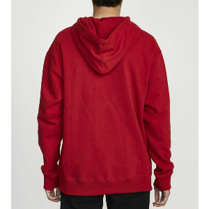 BAKER RVCA HOODIE - BRIGHT RED